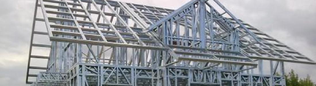 Case pe structura metalica zincata