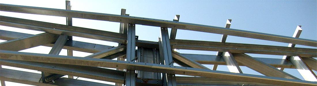 Hale pe structura metalica zincata